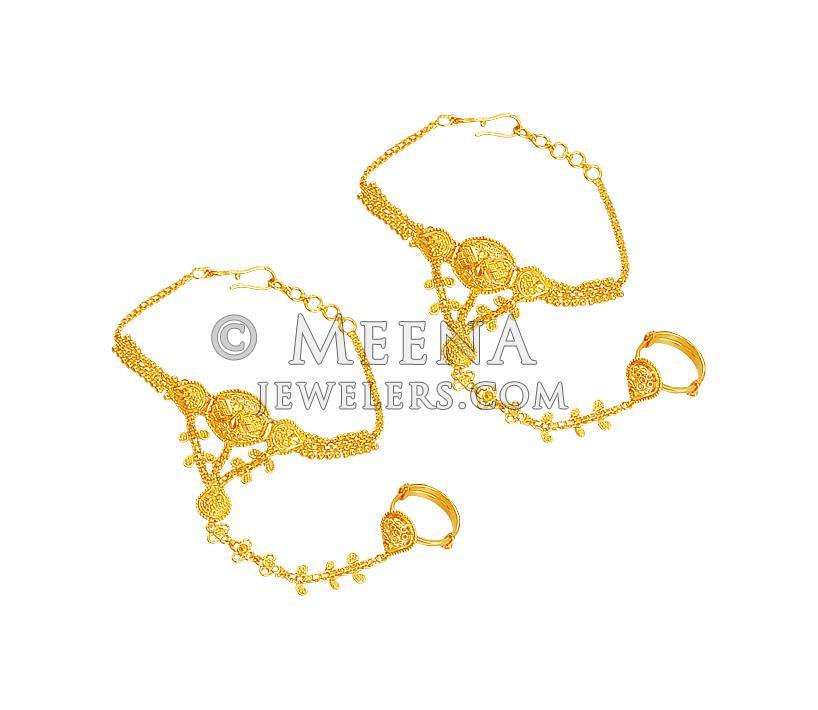 22kt Gold Kids Bracelet Brla18959 22kt Gold Kids