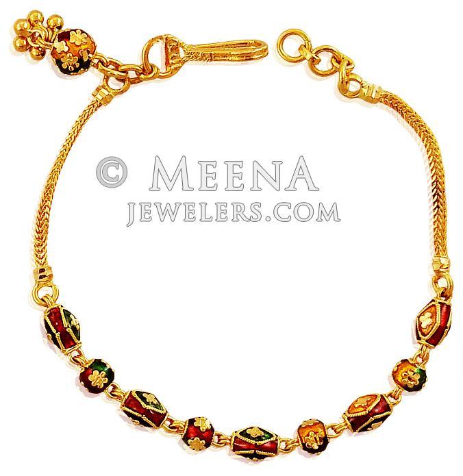 Gold bracelets for teenage girls