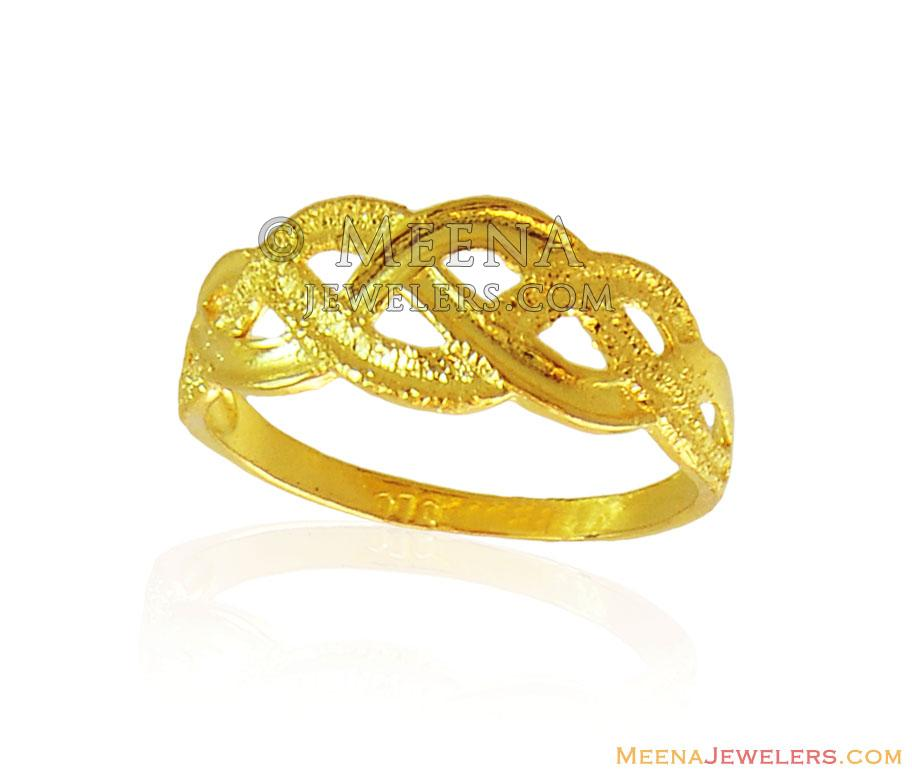 fancy gold ring 22k rilg16501 22k gold