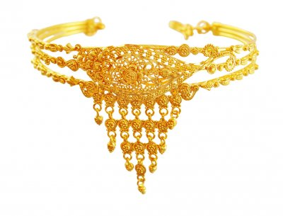 22K Traditional Vanki For Kids ( Gold Armlet (Baju Bandh) )