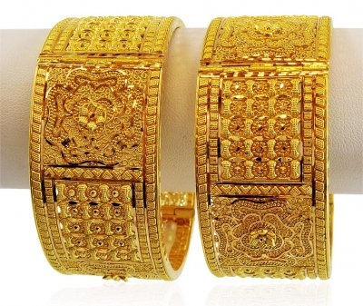 22K Gold Bridal Kada (1 Pc only) ( Kadas )