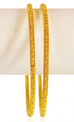 22KT Gold Filigree work ( Gold Bangles )