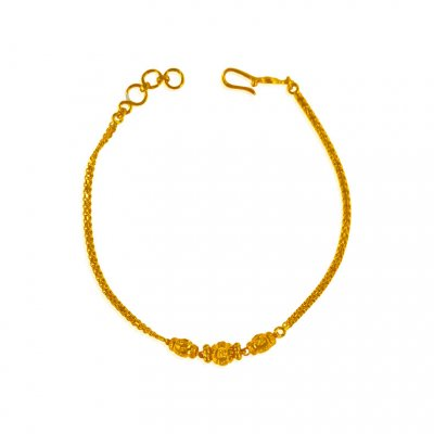 22 Kt Gold Fancy Bracelet ( Ladies Bracelets )