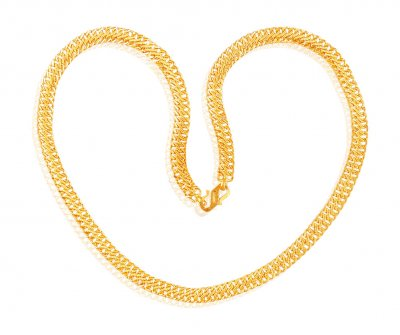 22K Gold Mens Chain 22In ( Men`s Gold Chains )