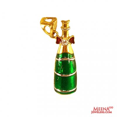22 Kt Gold Fancy Pendant ( Fancy Pendants )
