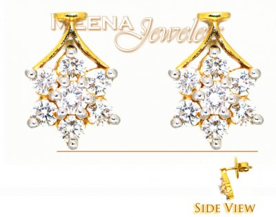 Genuine Diamond Earrings  ( Diamond Earrings )