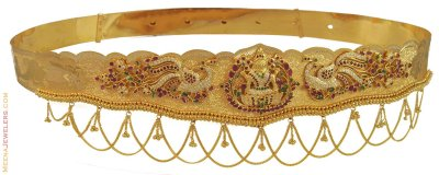 Gold Waist Belt (Kamar Patta) ( Gold Waist Belt )