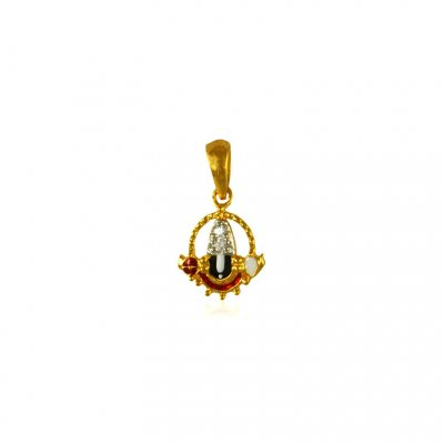 22 Kt Gold Lord Balaji Pendant ( Ganesh, Laxmi and other God Pendants )