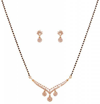 Gold Mangalsutra Set With Diamond ( Diamond MangalSutras )