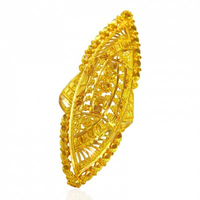 22karat Gold Ladies Ring  ( Ladies Gold Ring )