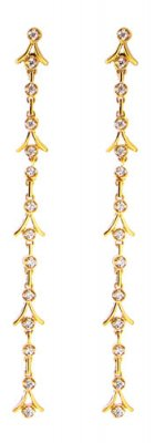 22 Karat Long Gold Earring ( Long Earrings )