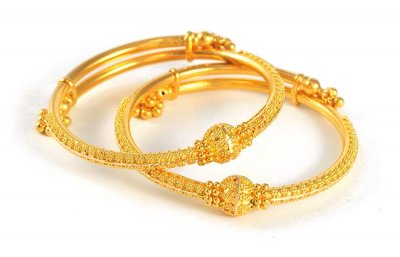 Baby Bangles 22kt Gold Bjba4100 22kt Gold Indian