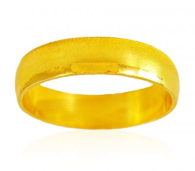 22 Karat Gold Band  ( Wedding Bands )