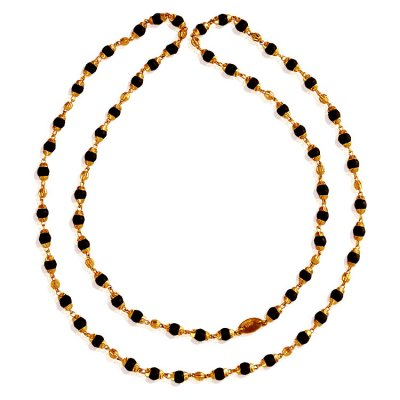 22Kt Gold Holy Tulsi Mala ( 22Kt Long Chains (Ladies) )