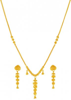 22 Karat Gold Necklace Set ( Light Sets )