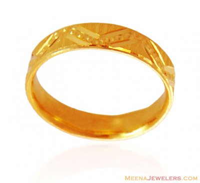 22K Gold Band (Ring) ( Wedding Bands )