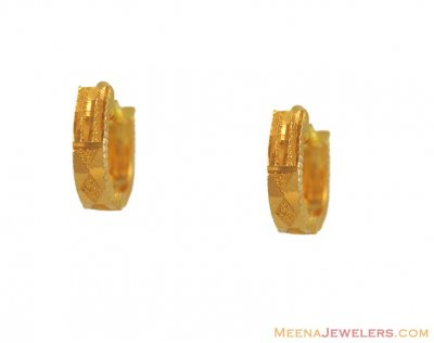 22k Yellow Gold ClipOns ( Clip On Earrings )