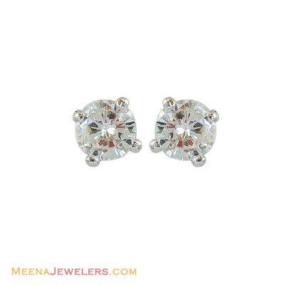 18k Diamond Earrings  ( Diamond Earrings )