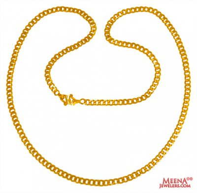 22 Kt Gold Mens Chain  ( Men`s Gold Chains )