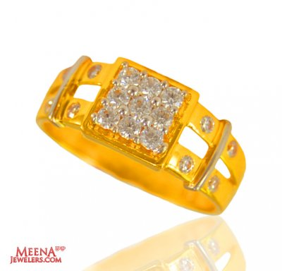Gold Mens Ring 22 kt ( Mens Signity Rings )
