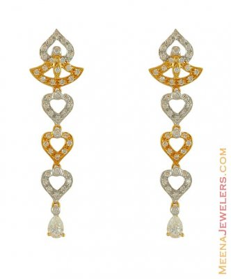 Gold Signity Earrings ( Signity Earrings )