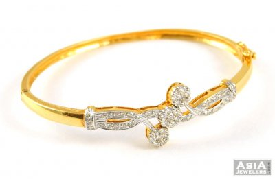 18k Yellow Gold Diamond Bracelet ( Diamond Bracelets )