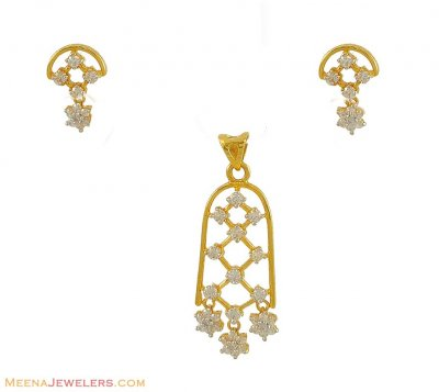 22K Pendant Set ( Fancy Pendant Set )