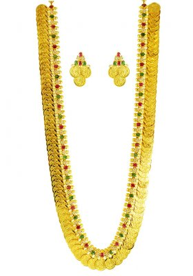 22 Karat Gold Kasu Maalai (Set) ( 22 Kt Gold Sets )