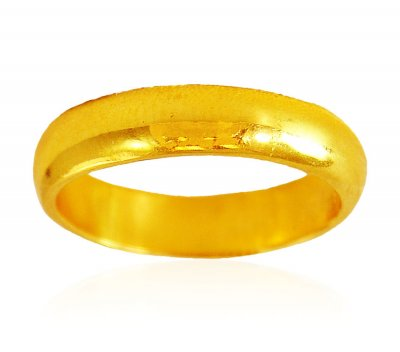 22k Gold Unisex Wedding Band ( Wedding Bands )