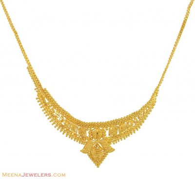 22k Yellow Gold Necklace ( 22 Kt Gold Sets )