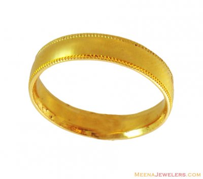 22K Gold Band ( Wedding Bands )