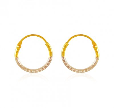 22 Kt Gold Hoop Earrings ( Hoop Earrings )