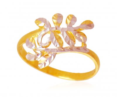 22K Gold Fancy  Ring ( Ladies Gold Ring )
