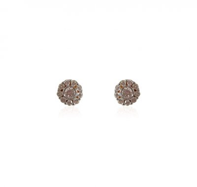 Diamond Earrings 18K ( Diamond Earrings )
