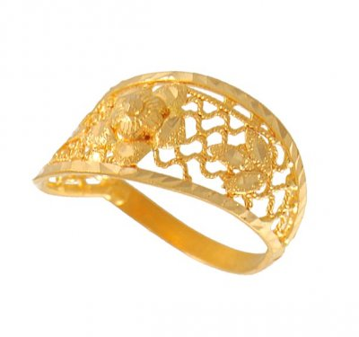 22Kt Gold Ring ( Ladies Gold Ring )