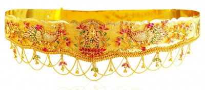 22 Karat Gold Vadanam ( Gold Waist Belt )