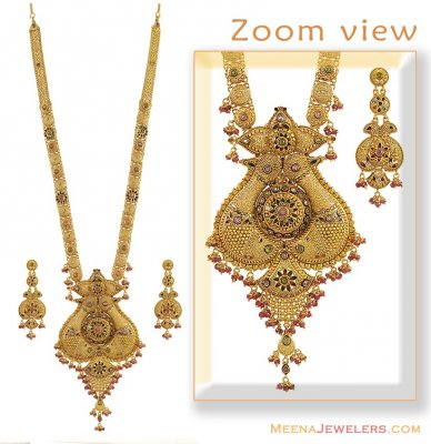 Gold Patta Set ( Bridal Necklace) ( Bridal Necklace Sets )