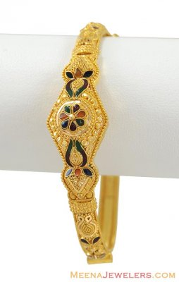 Gold Antique Kada (22 Karat) ( Antique Bangles )