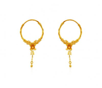 22K Hoop Earrings  ( Hoop Earrings )