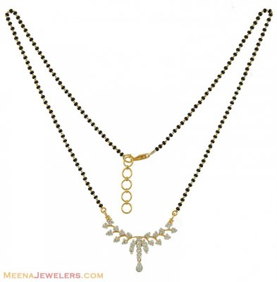 18K Diamonds Mangalsutra ( Diamond MangalSutras )