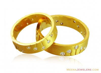 22K Matching Couples Band ( Wedding Bands )