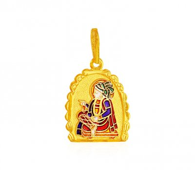 Swami Narayan Gold Pendant ( Ganesh, Laxmi and other God Pendants )