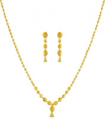 22kt Gold Dokia Set ( Light Sets )