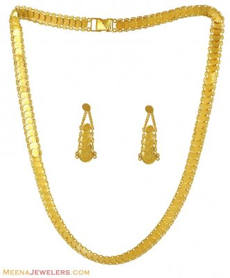 22k Gold Ginni Long Set ( 22 Kt Gold Sets )