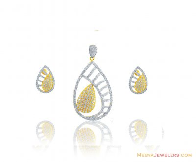 22K Exclusive Pendant Set ( Fancy Pendant Set )