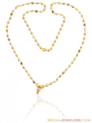 22K Gold Meena Balls Chain ( 22Kt Gold Fancy Chains )