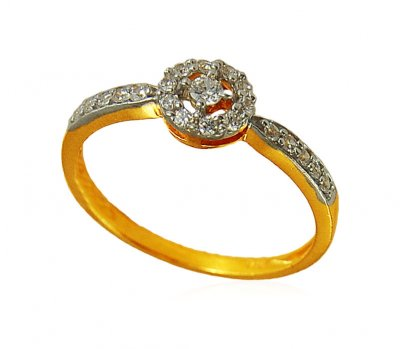 22K Signity Ring ( Ladies Signity Rings )