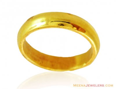 Simple Wedding Band 22k Unisex ( Wedding Bands )