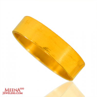 22 Kt Gold Wedding Band ( Wedding Bands )