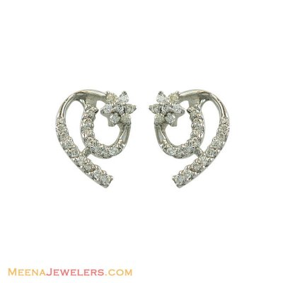 Fancy Genuine Diamond Earrings  ( Diamond Earrings )